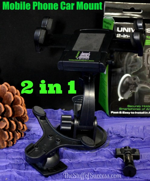 2 in 1 mobile phone car mount Giveaway Exp 4/22