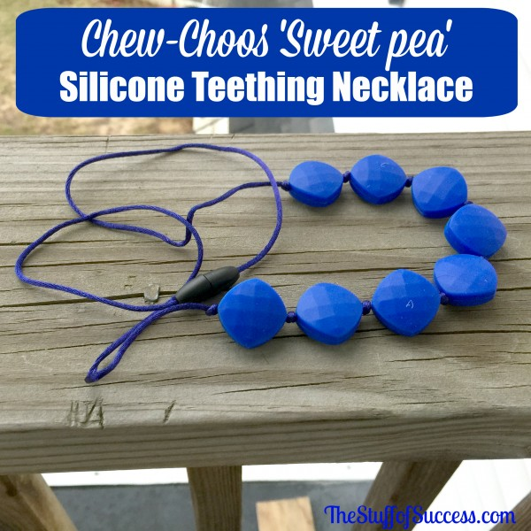 Chew-Choos 'Sweet pea' Silicone Teething Necklace Giveaway Exp 4/22
