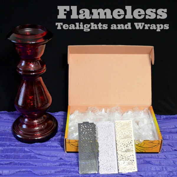 Flameless Tealights and Wraps