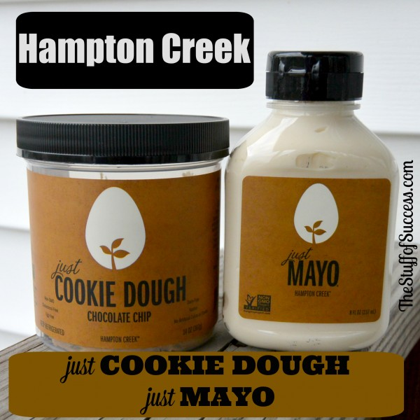 Hampton Creek just cookie dough and just may