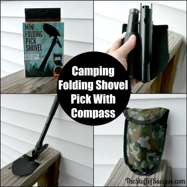 Mini Folding Pick Shovel