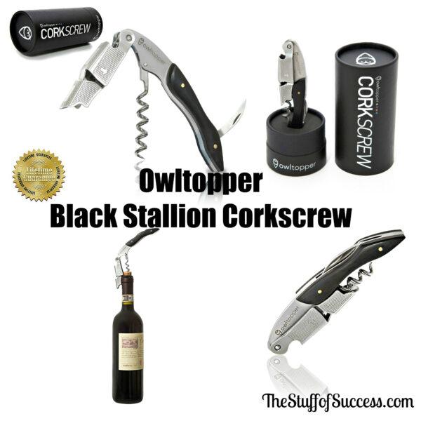 Owltopper Black Stallion Corkscrew