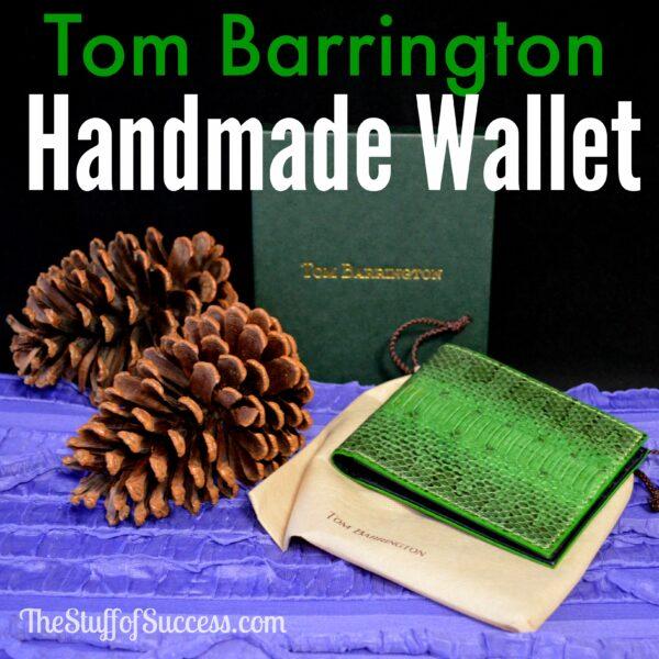 Tom Barrington Handmade Wallet