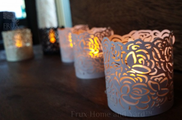 Wraps for tea lights frux home and yard wm