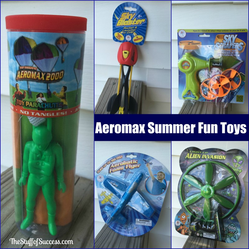 Aeromax Summer Fun Toys - Get Outside and Play Package Giveaway Exp 5/30