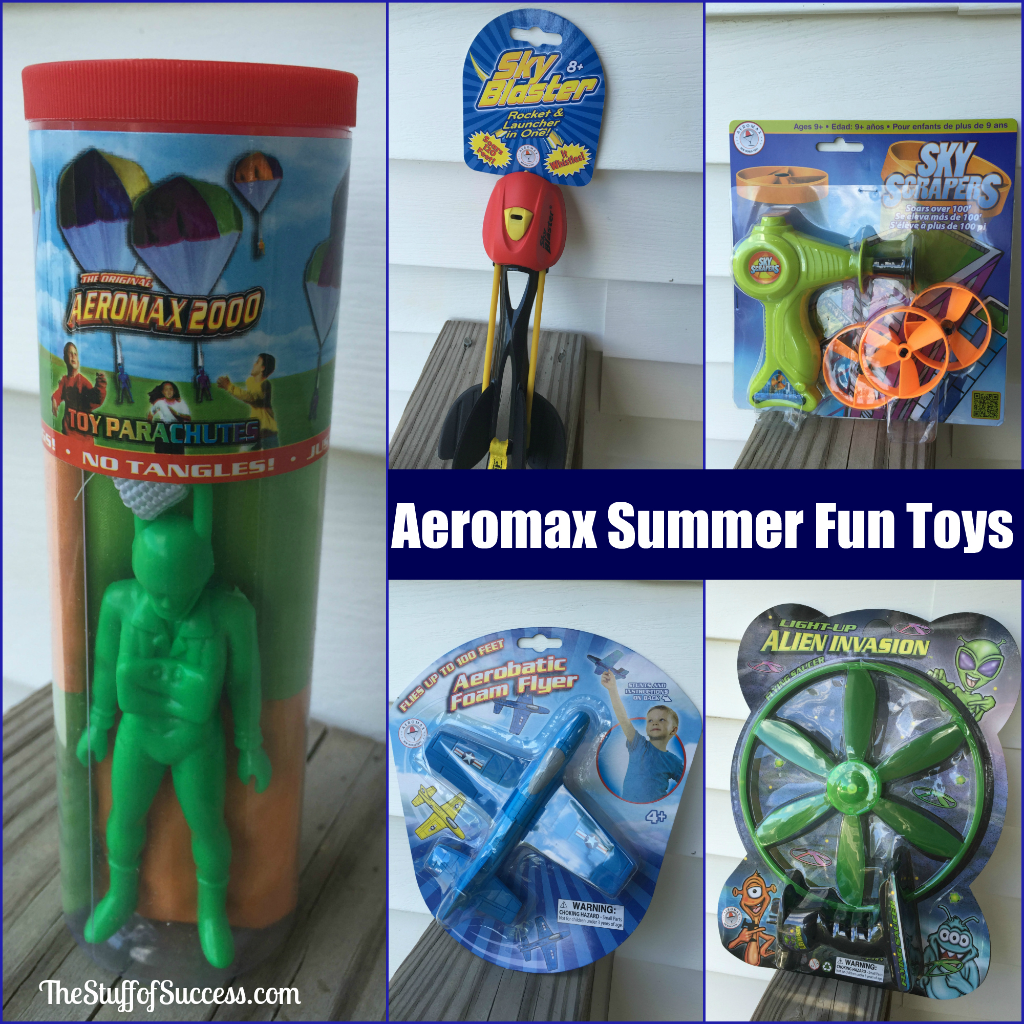 Aeromax Summer Fun Toys