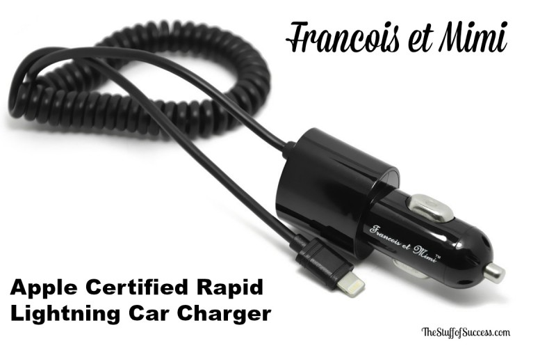 Apple Certified Rapid Lightning Car Charger