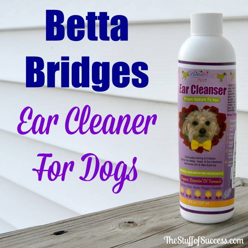 Betta Bridges Ear Cleaner For Dogs