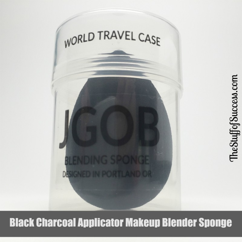 Black Charcoal Applicator Makeup Blender Sponge Giveaway Exp 6/3
