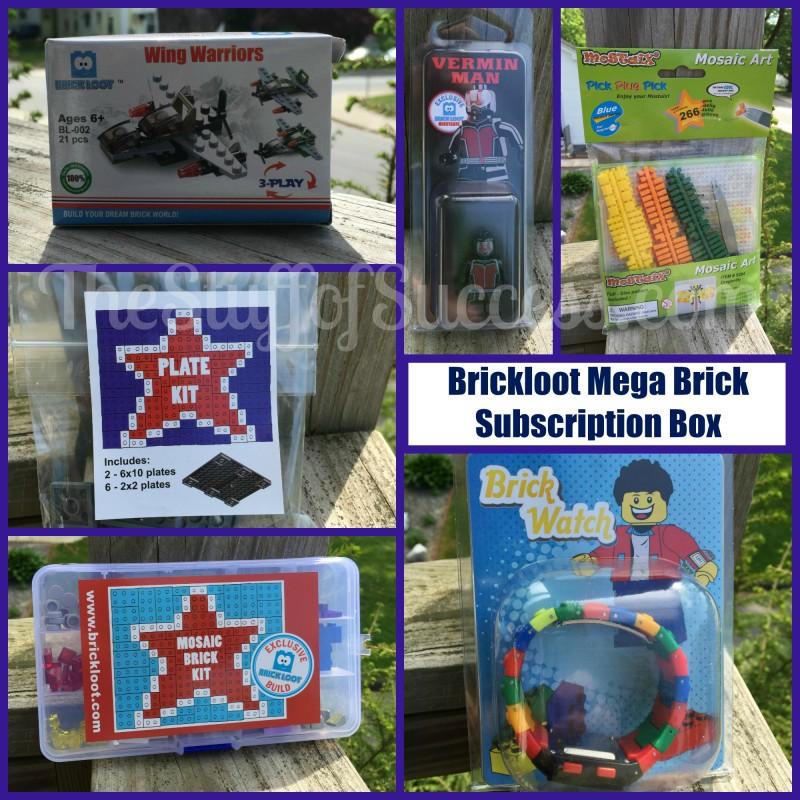 Brickloot Mega Brick Subscription Box