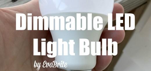 Dimmable LED Light Bulb by EvoBrite