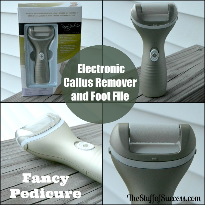 Electronic Callus Remover and foot file Giveaway Exp 5/20