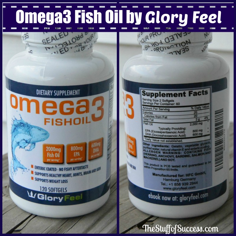 GloryFeel Omega3 Fish Oil