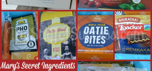 Marys Secret Ingredients