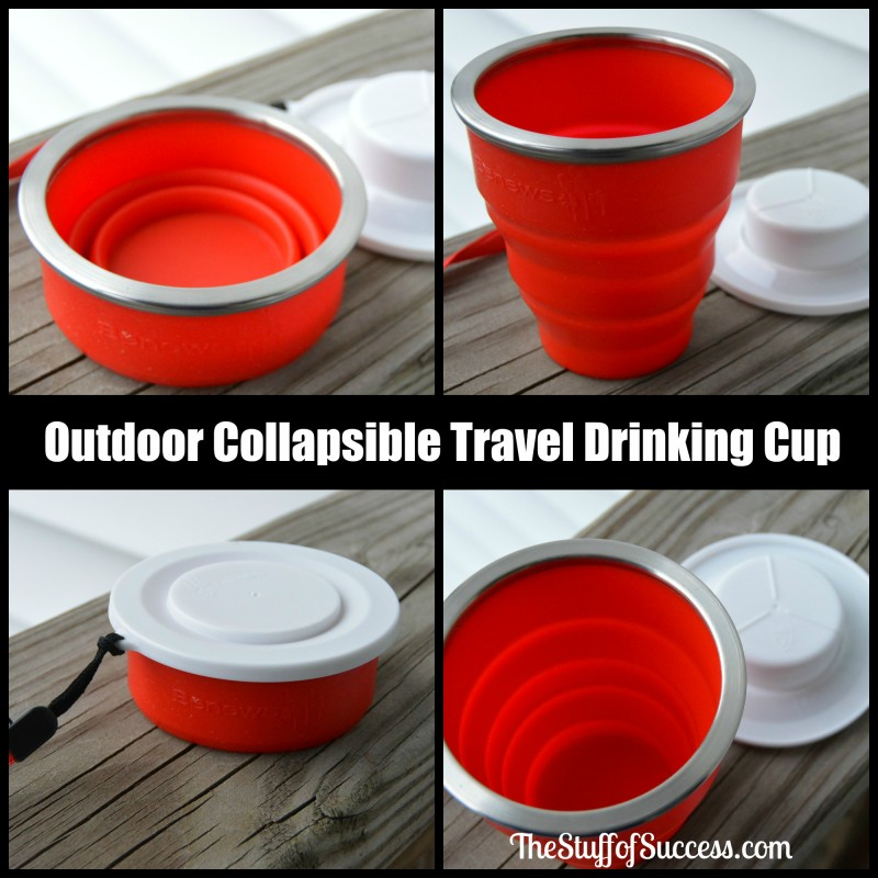 Outdoor Collapsible Travel Drinking Cup