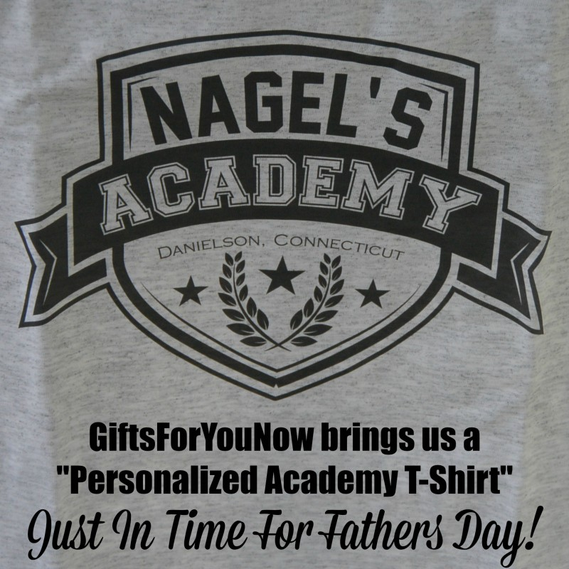 Personalized Academy Tshirt Giftsforyounow