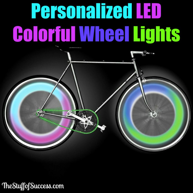 Personalized LED Colorful Wheel Lights