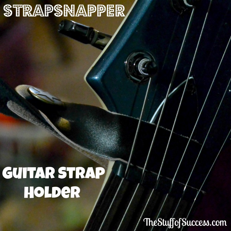 Strapsnapper Guitar Strap Holder