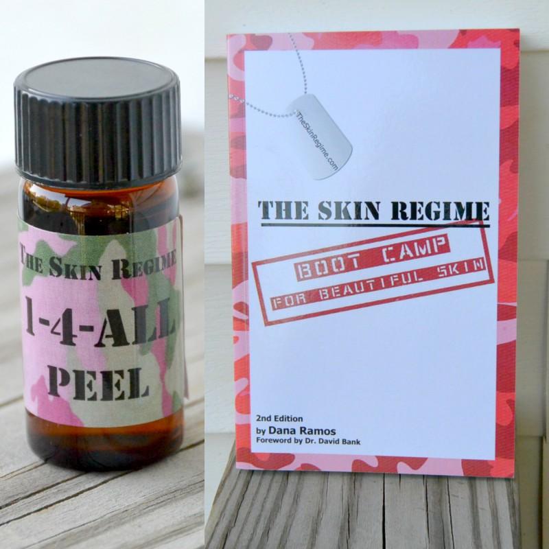 The Skin Regime Great Skin Peel and Book