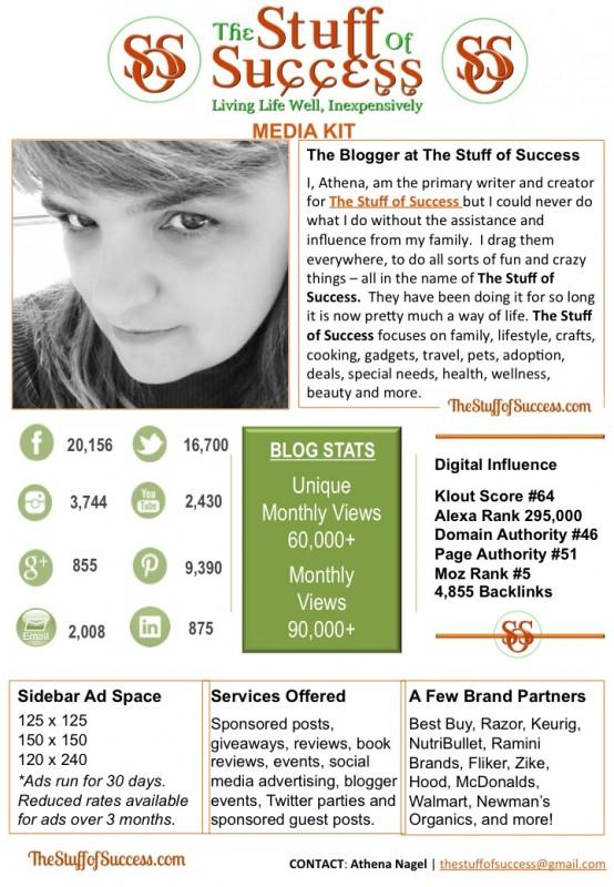 The Stuff of Success Media Kit 051015