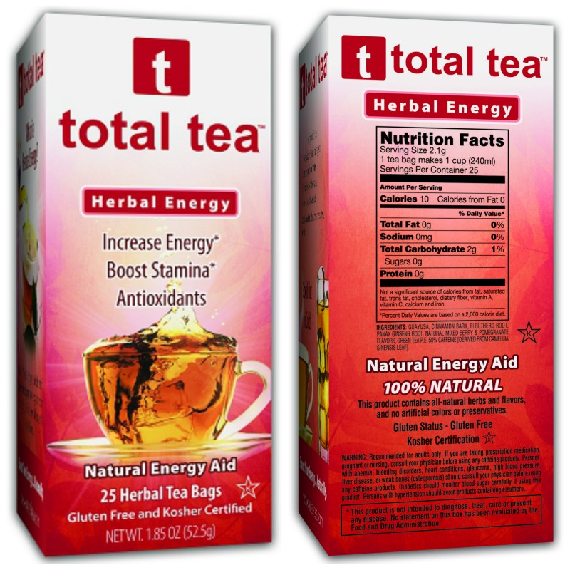 Total Tea Herbal Energy 2