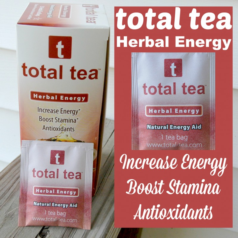 Total Tea Herbal Energy Giveaway Exp 5/27