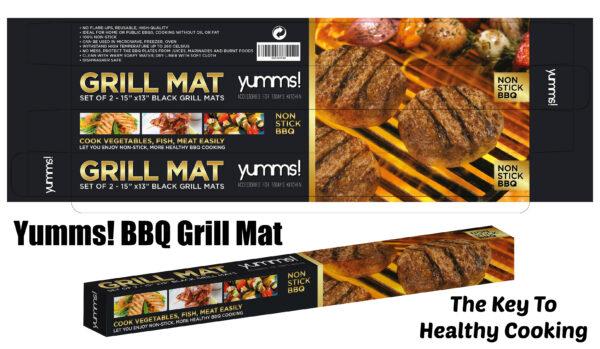 Yumms BBQ Grill Mat