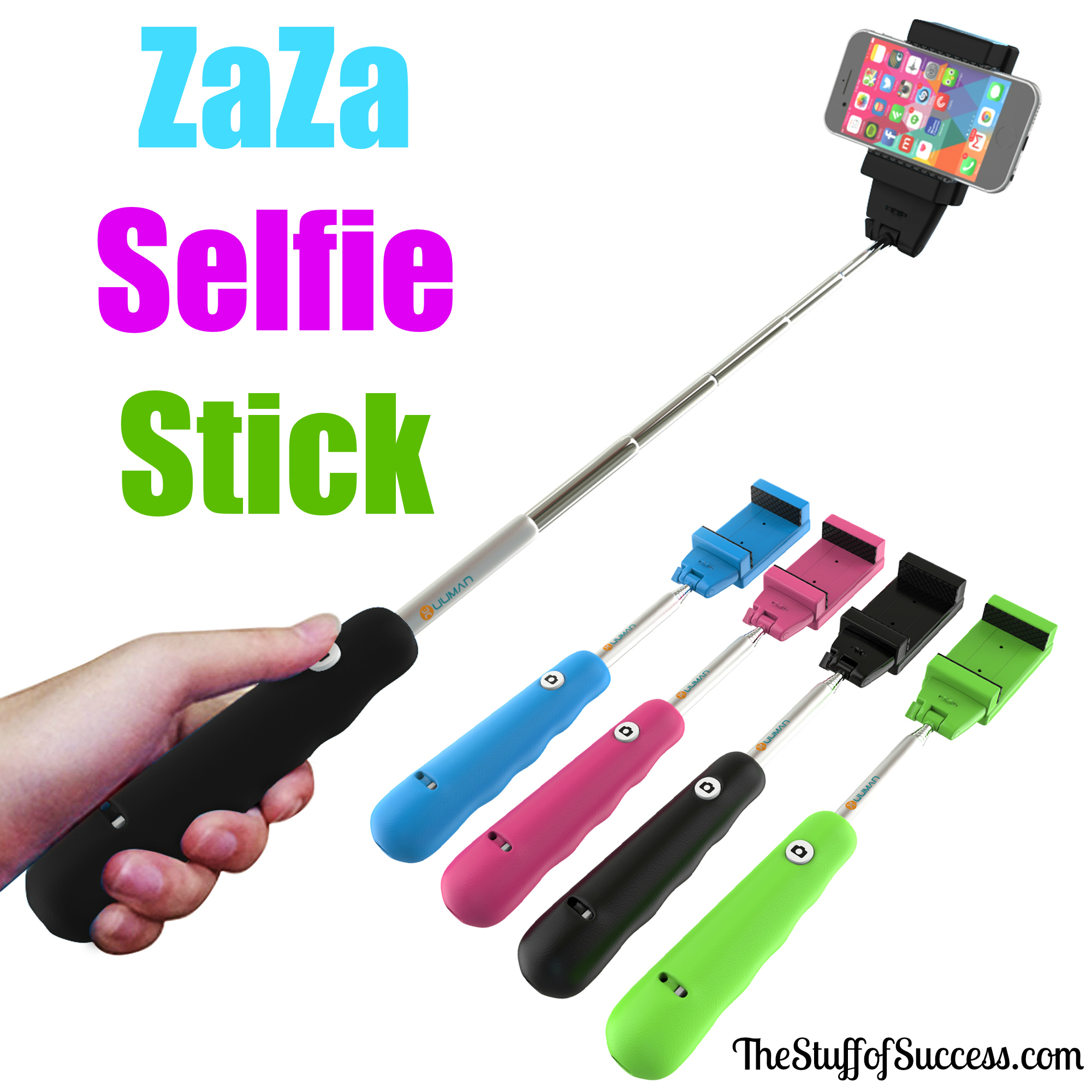 the zaza selfie stick helps capture memories from anywhere. Black Bedroom Furniture Sets. Home Design Ideas