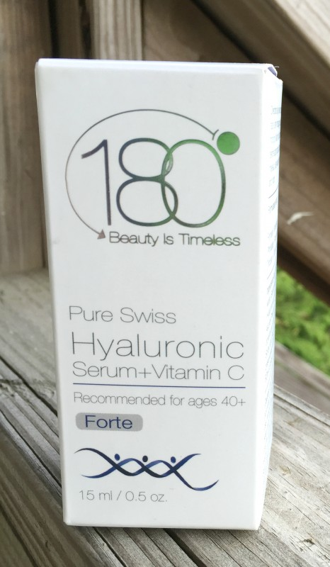 180°  Beauty is Timeless  Pure Swiss Hyaluronic Serum  +  Vitamin C box