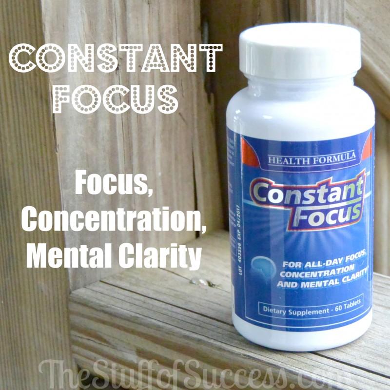 Constant focus