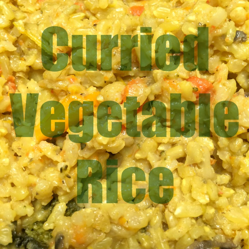 Curried Vegetable Rice