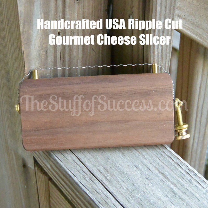 Handcrafted USA Ripple Cut Gourmet Cheese Slicer