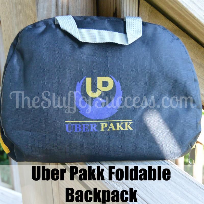 uber pakk foldable backpack