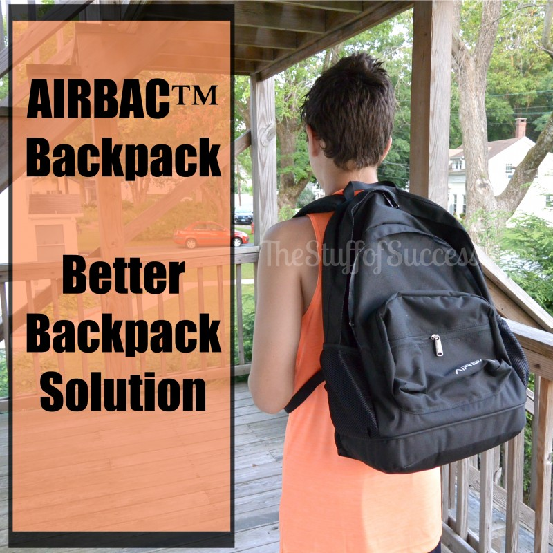 Airbac the better backpack