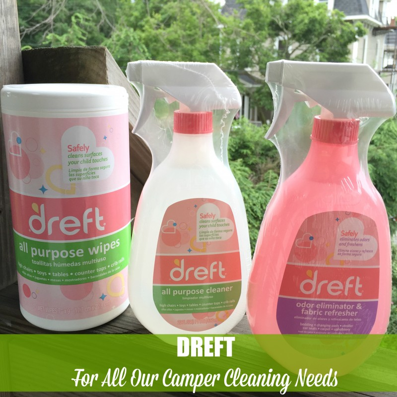 Dreft For All Our Camper Cleaning Needs