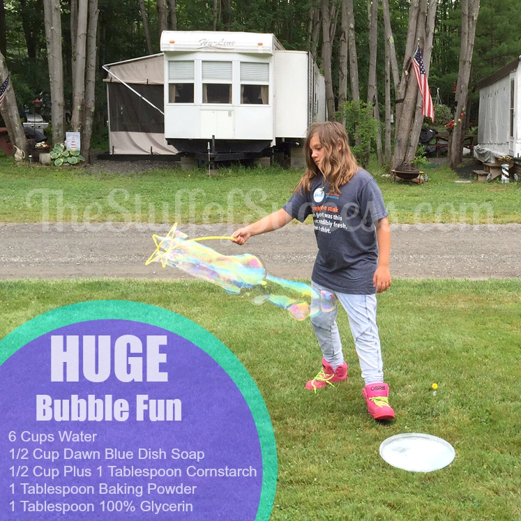Huge Bubble Fun