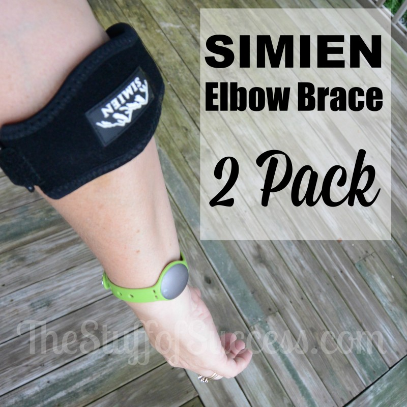 Simien's Elbow Brace Pack Giveaway Exp 7/18/15