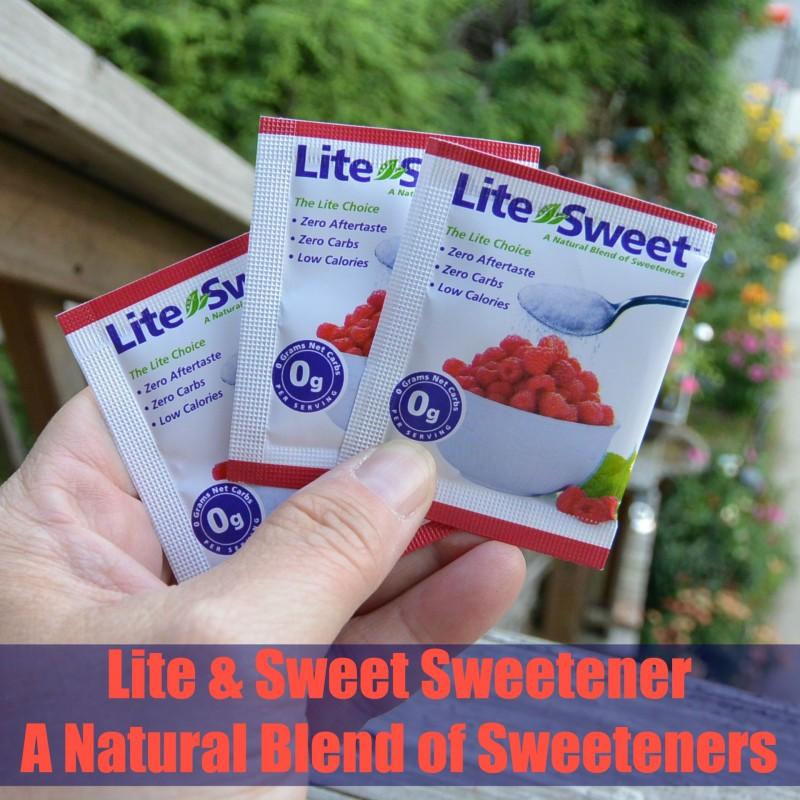 Lite & Sweet Sweetener - A Natural Blend of Sweeteners