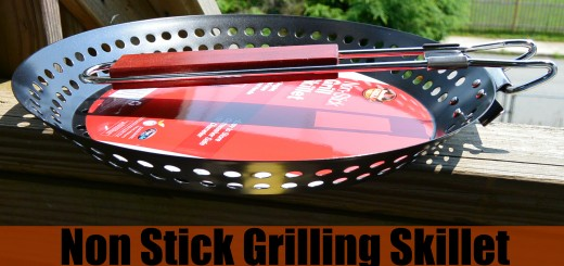 Non Stick Grilling Skillet With Foldable Handle