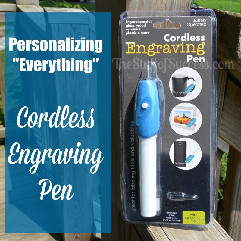 Personalizing Cordless Engraving Pen