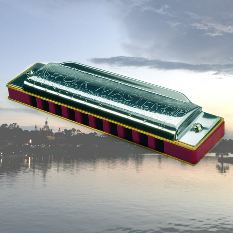 Traveling the world with my harmonica
