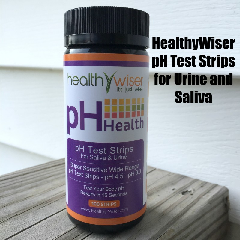 HealthyWiser Ph Test Strips for Urine and Saliva
