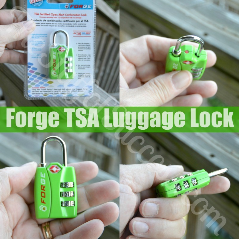 Forge TSA Luggage Lock