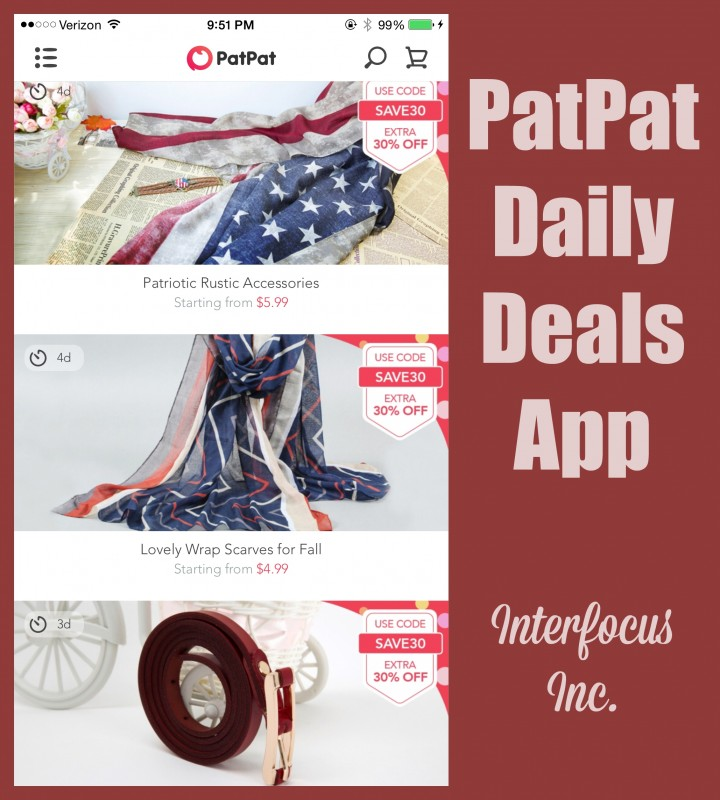 PatPat Daily Deals App