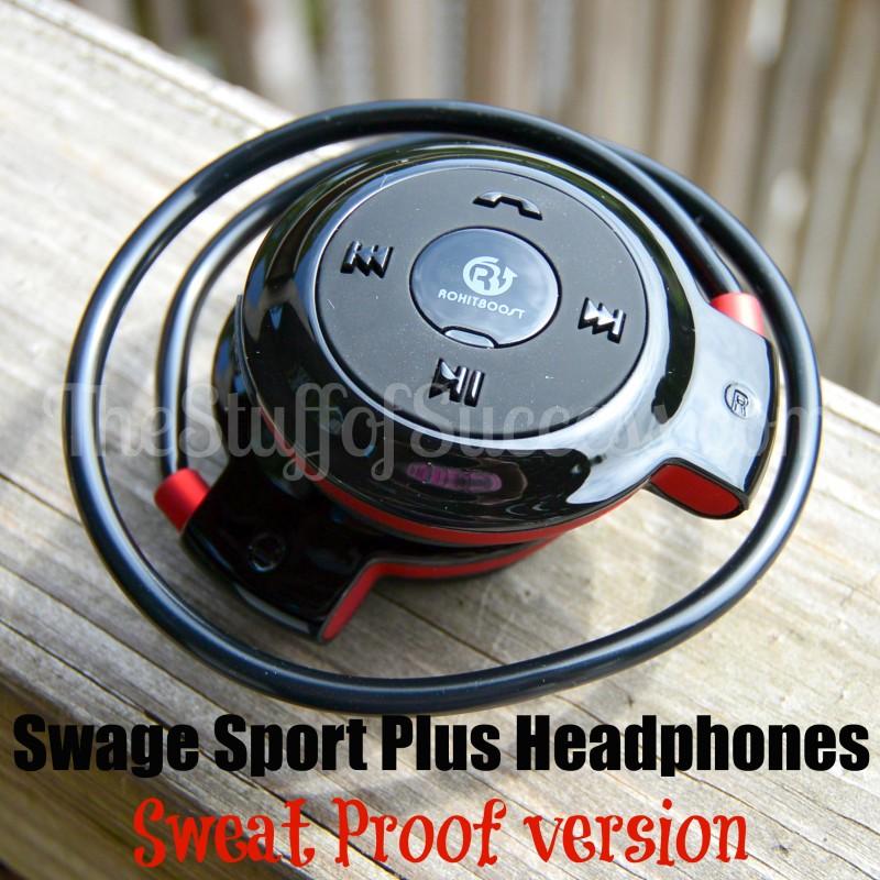Swage Sport Plus Headphones - Sweat Proof version
