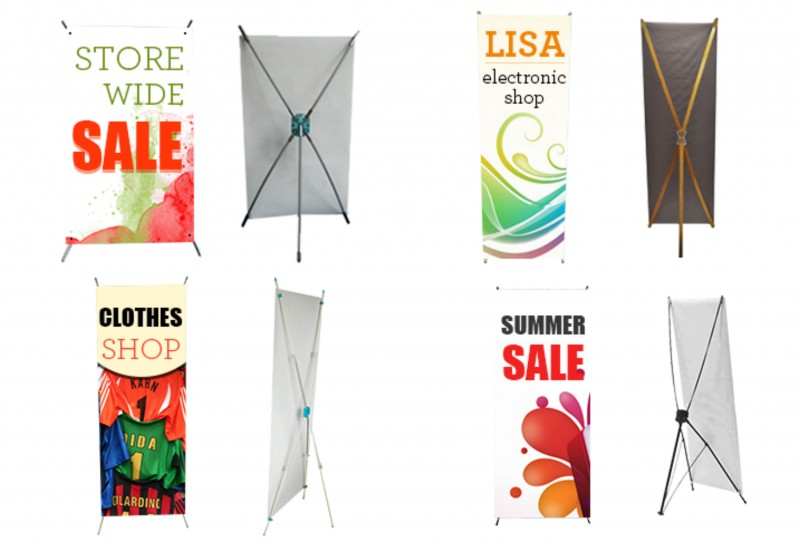 X Banner Stands - Best of Signs
