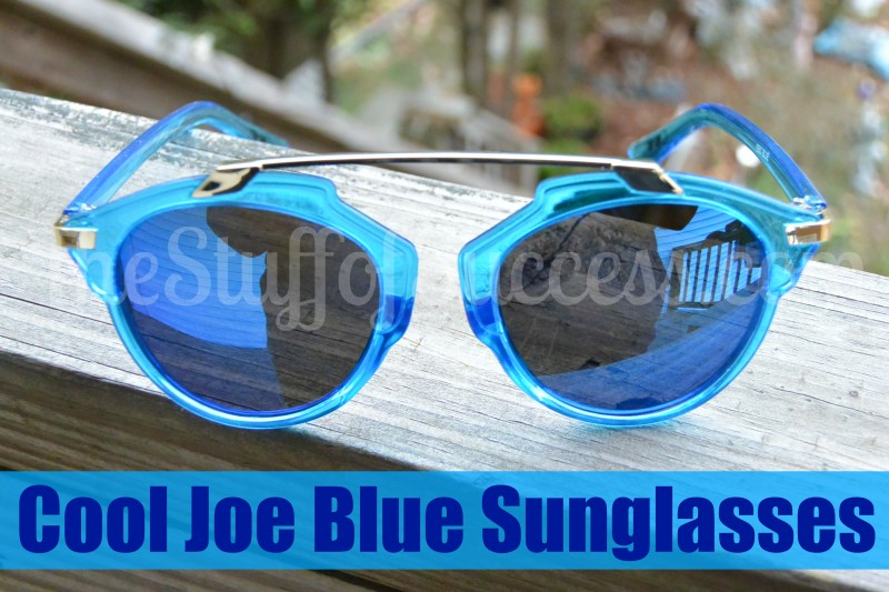 Cool Joe Blue Sunglasses