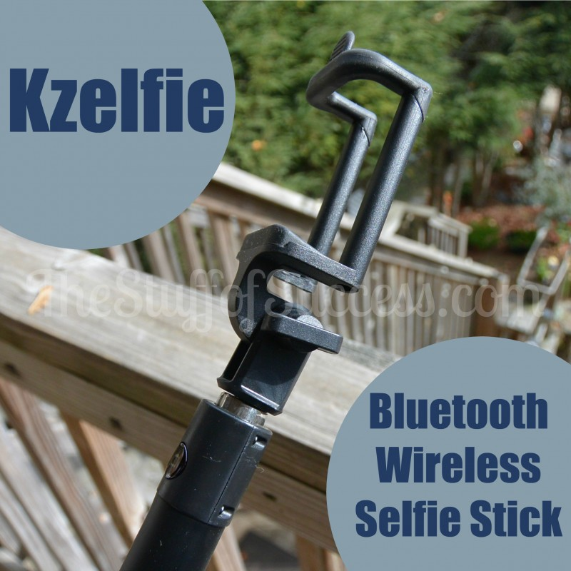 Kzelfie Bluetooth Wireless Selfie Stick