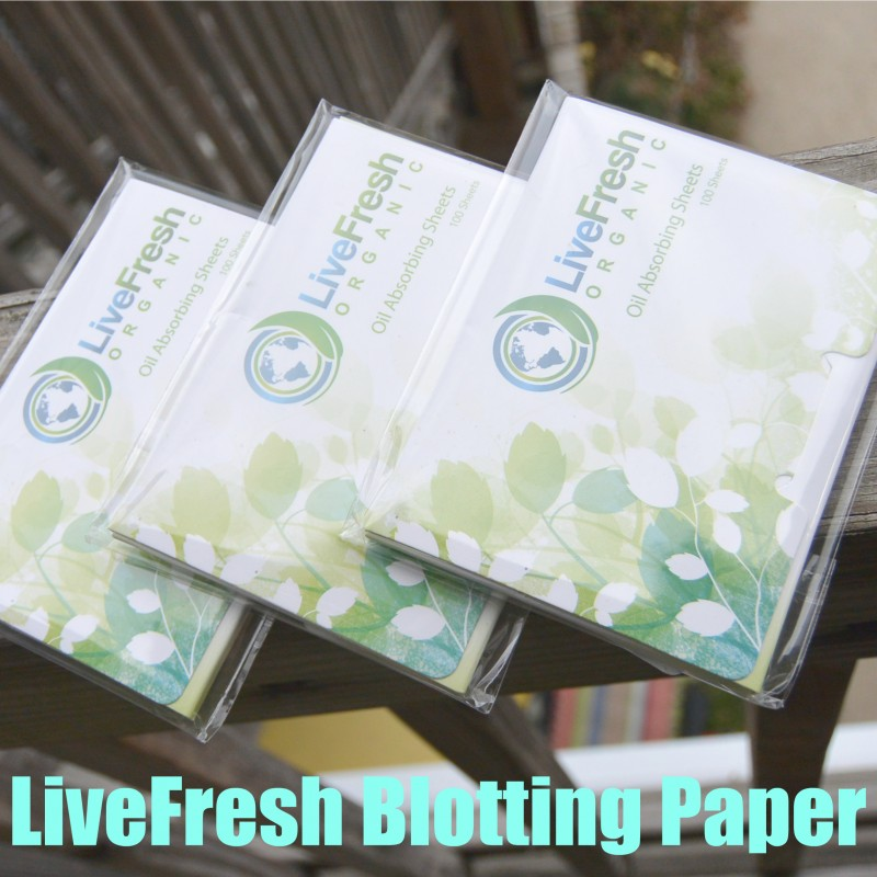 LiveFresh Blotting Paper
