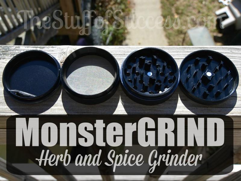 MonsterGRIND Herb and Spice Grinder